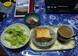 パンといちご20170325朝