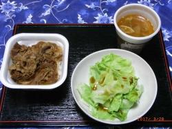 夕食20170328