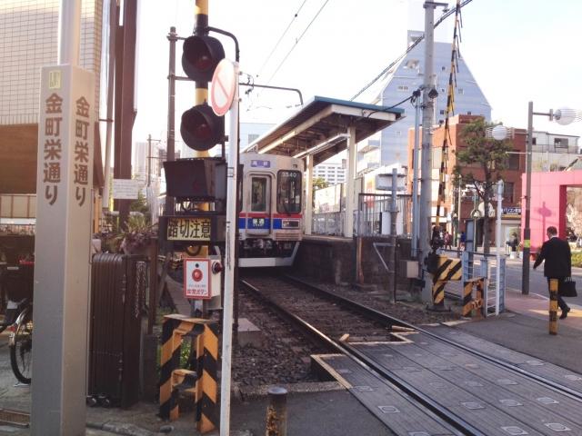 京成金町駅。