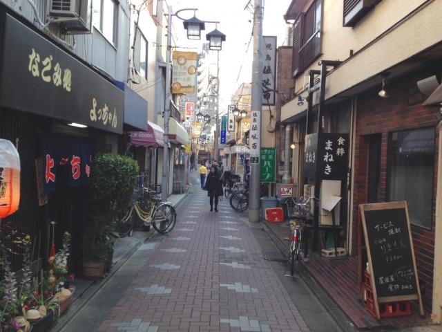 金町栄通り。