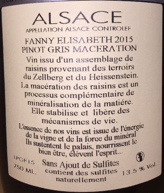 Pinot Gris Maceration Fanny Elisabeth Julien Meyer 2015 part2