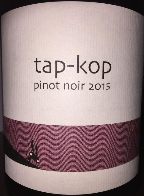 Tapkop Pinot Noir Kondo Vineyard 2015 part1