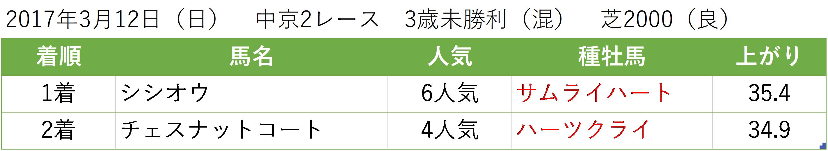 20170318_中京芝ハーツクライ馬場
