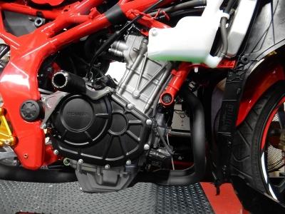 新型 CBR250RR フルエキゾースト開発 (4)