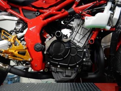 新型 CBR250RR フルエキゾースト開発 (5)