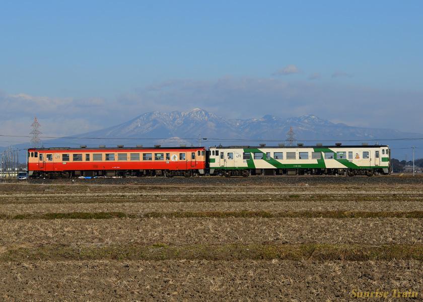 烏山線 キハ40