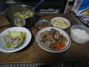 ひとりご飯3