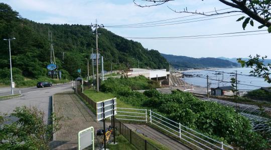山形新潟県境