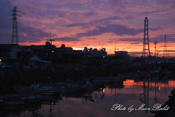 北浜の漁港 愛媛県西条市北浜南