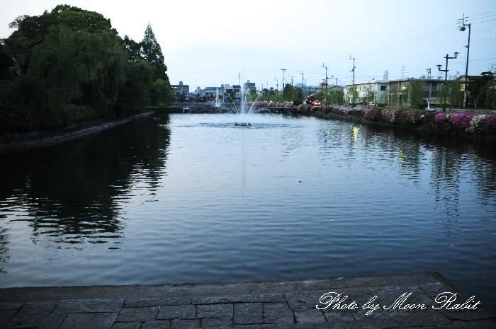 西条藩陣屋跡のお堀