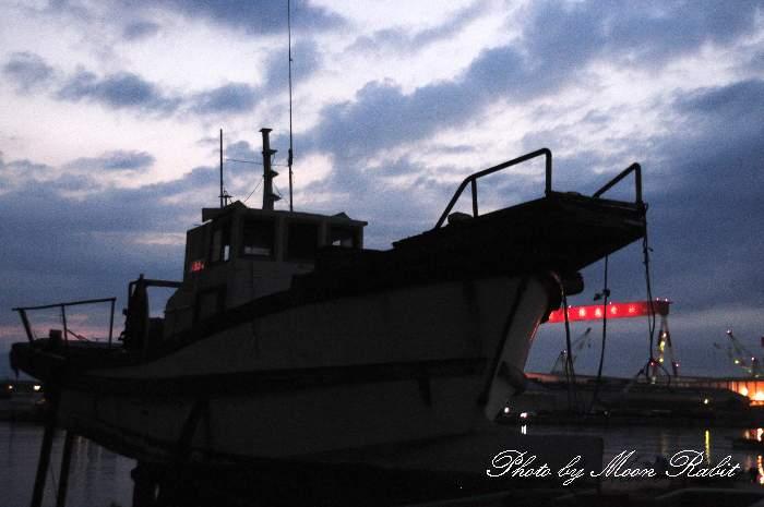 漁船 船屋漁港 愛媛県西条市船屋