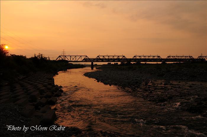 加茂川橋梁(鉄橋) 愛媛県西条市