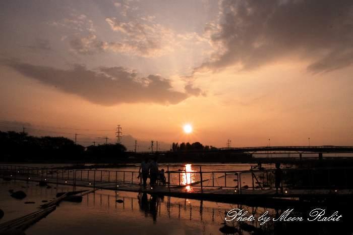 メロディ橋 遊ぶ子 愛媛県西条市