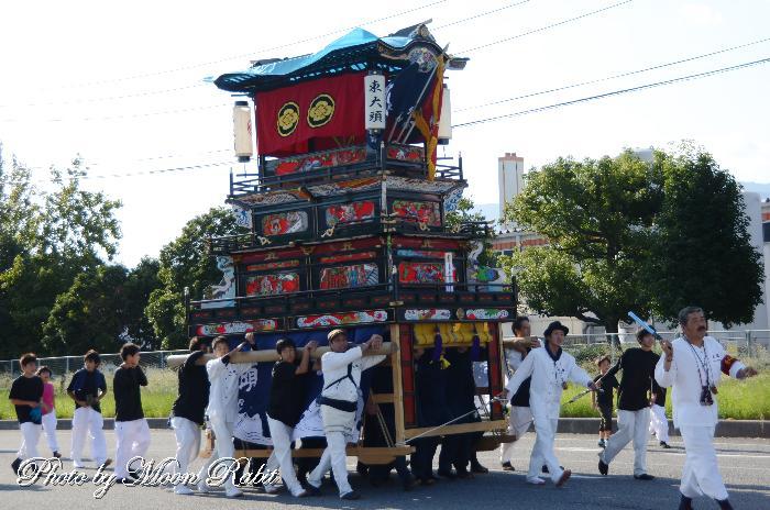 東大頭屋台(だんじり) 四国コカコーラボトリング小松第二工場