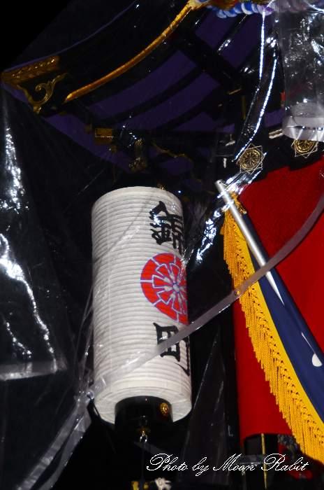 先代錦町屋台(だんじり) 祭り提灯