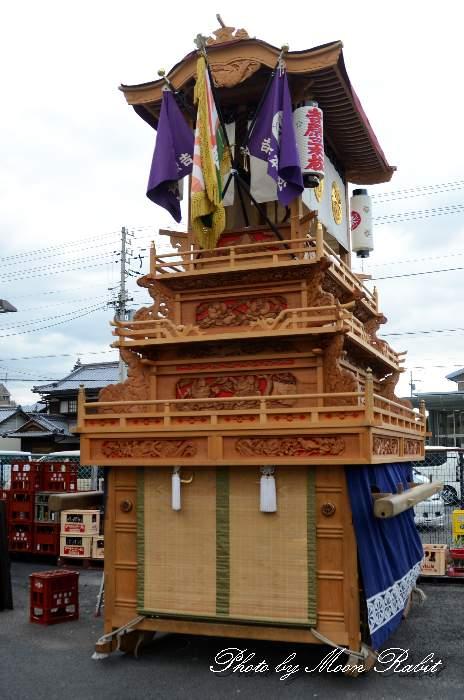 吉原三本松だんじり(屋台) 西条祭り