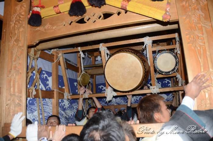 富士見町だんじり(屋台) 祭り太鼓