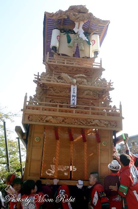 御所通屋台(だんじり) ご殿前 西条祭り