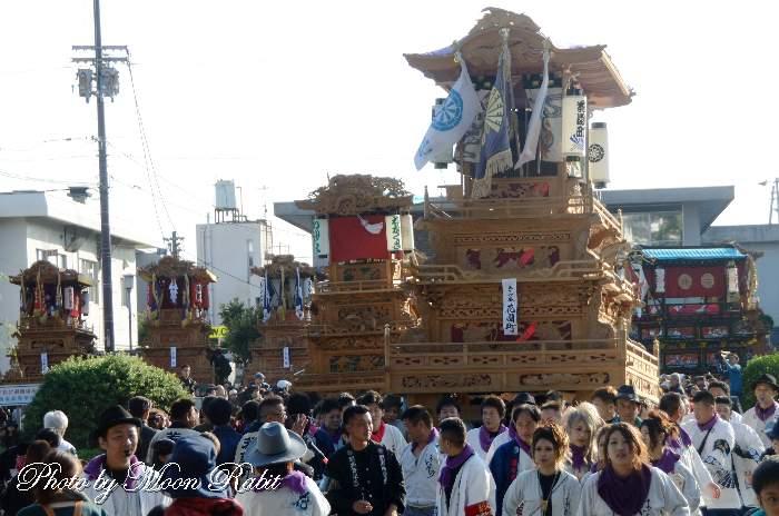 花園町屋台(だんじり) ご殿前 西条祭り