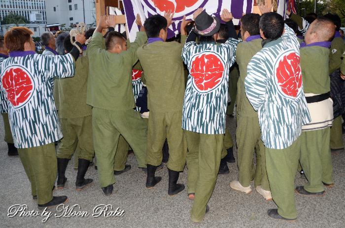 西の川原だんじり(屋台) 祭り装束