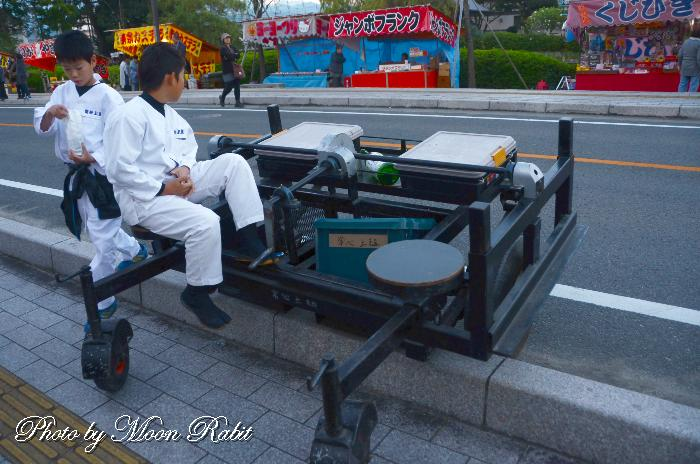 台車 常心上組だんじり(屋台) 西条祭り 伊曽乃神社祭礼 愛媛県西条市