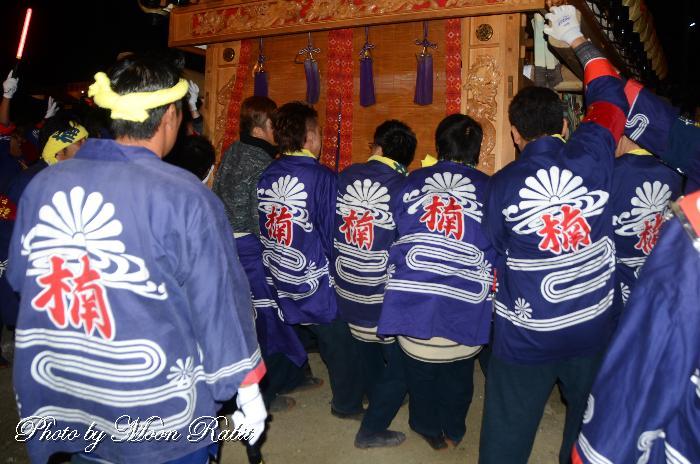 楠屋台(だんじり) 祭り装束