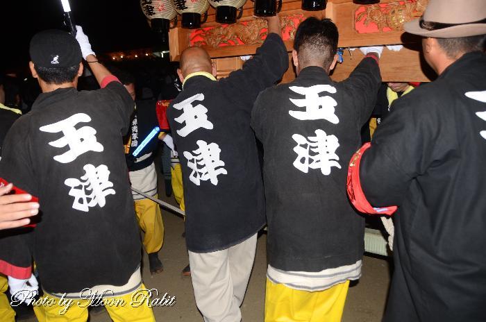玉津屋台(だんじり) 祭り装束