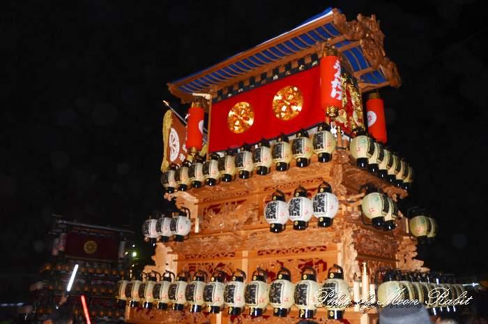 祭り提灯 地蔵原屋台(だんじり)