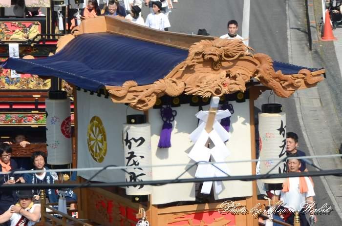 破風・天幕 加茂町だんじり(屋台)