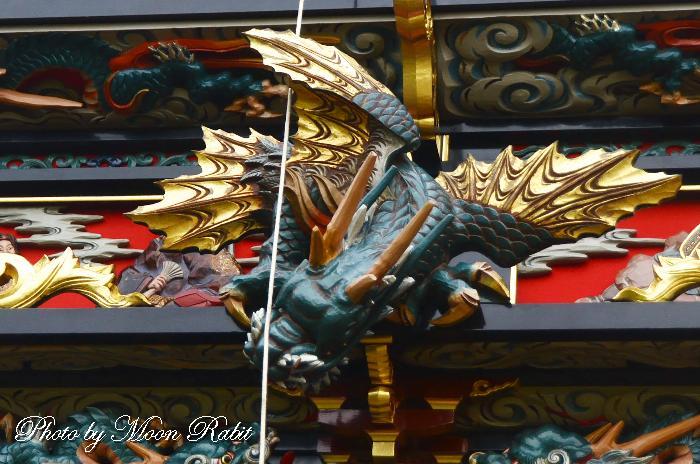 置き彫り 東原だんじり(屋台)