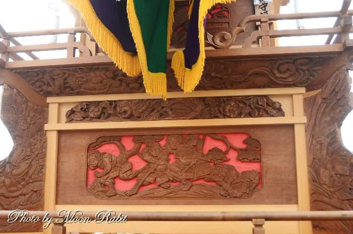 今在家だんじり(屋台) 支輪 三保神社祭礼