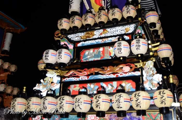 祭り提灯 船元町屋台(だんじり)
