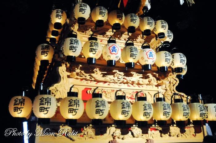 錦町屋台(だんじり) 祭り提灯
