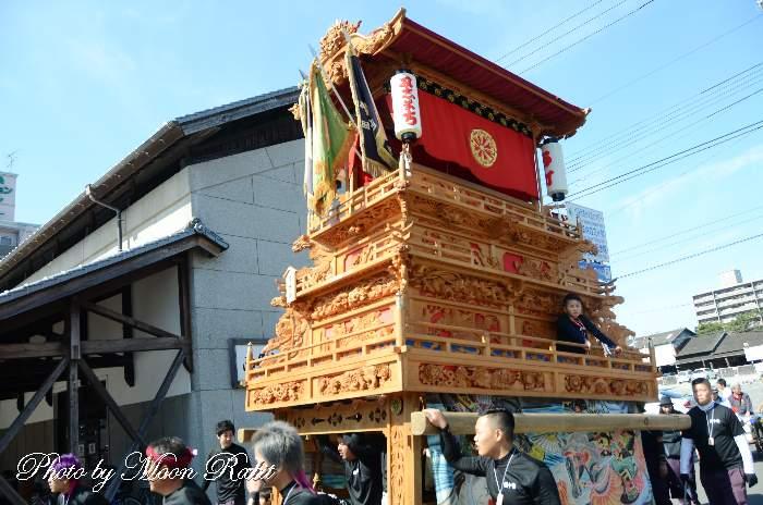 石水会 西町だんじり(屋台)