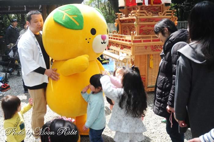ミキャン 伊曽乃神社開運春祭り