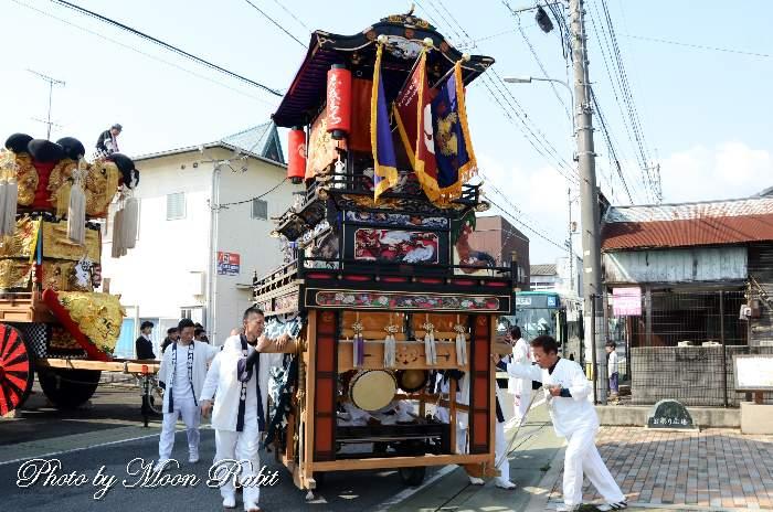 下町だんじり(下町屋台) 恵美洲神社春祭り(丹原春祭り)