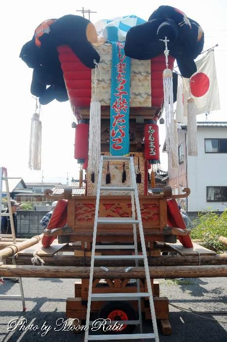下町子供太鼓台 恵美洲神社春祭り(丹原春祭り)