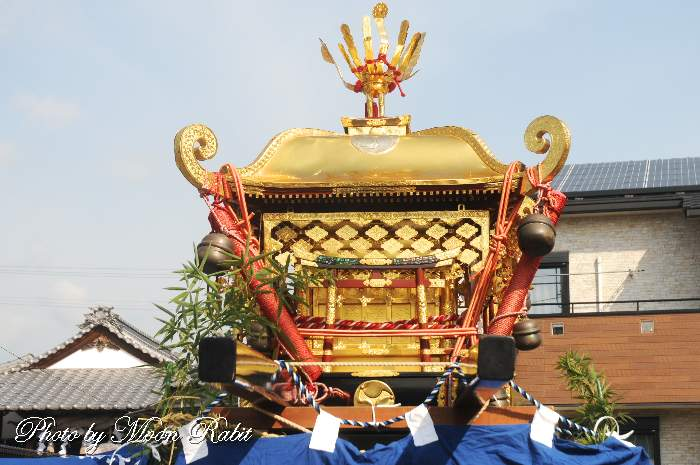恵美洲神社社紋 神輿