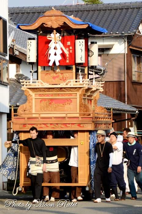 高尾神社御神幸祭 井上屋台(だんじり)