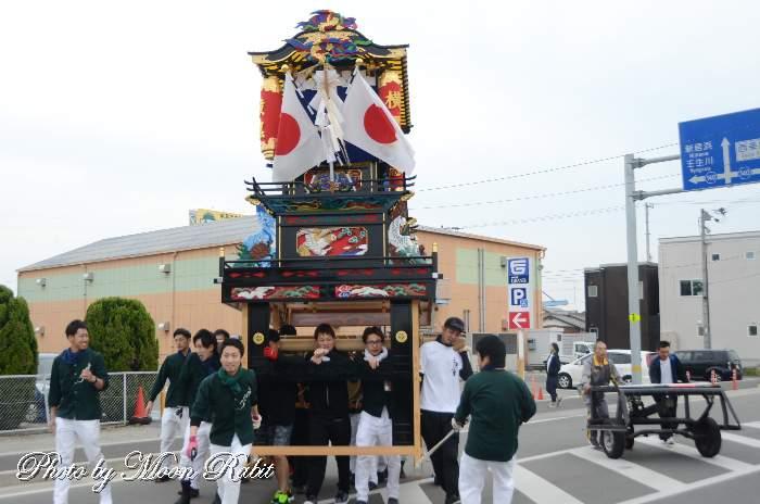 風伯神社祭礼 横黒だんじり(個人所有) 愛媛県西条市