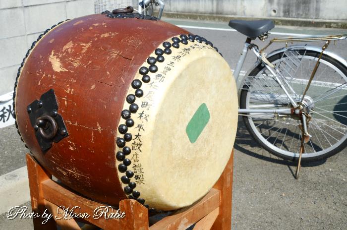 若草町屋台(だんじり) 祭り太鼓