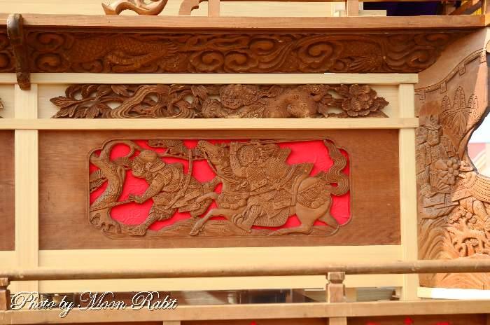 今在家屋台(だんじり) 支輪 三保神社祭礼