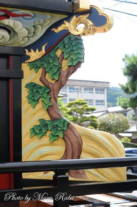 隅障子 楢之木だんじり(屋台)