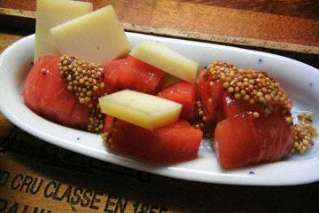 blog Dinner, Atsuage, Eringi & Mushroom, Tomato-Cheese, & Miso Soup_DSCN3072-10.1.16.jpg
