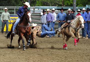 blog (6x4@300) Yoko 76 Rowell Ranch Rodeo, Slack, Steer Wrestling, Josh Garner (5.2)_DSC8111-5.20.16.jpg