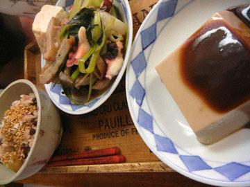 blog Dinner, Kuri Okowa, Jakoten & Veggies, Goma Tofu_DSCN3331-11.11.16.jpg