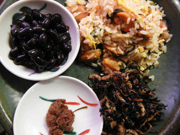 blog Brunch, Fried RIce with Mussels, Hijiki_DSCN2387-3.24.16.jpg
