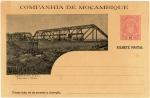 モザンビーク会社領・ベイラ鉄道はがき