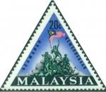 マレーシア・国家独立記念碑