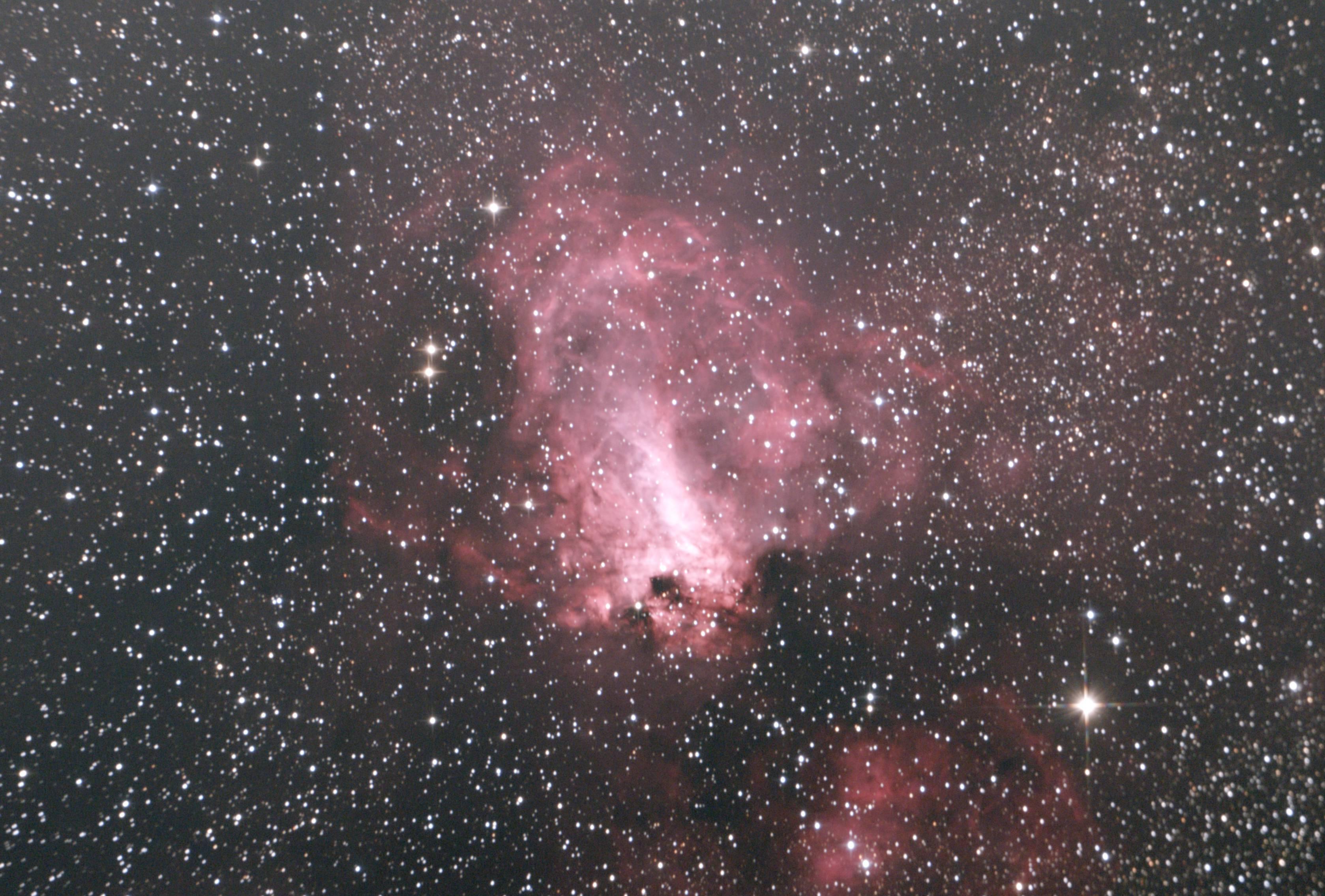M17オメガ星雲20170226